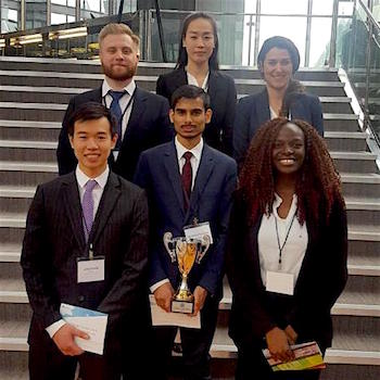 Laurier economics students win Bank of Canada's Governor's Challenge