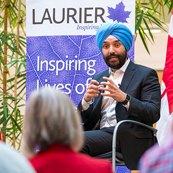 Record: Laurier poised to reap benefits of science-friendly federal budget