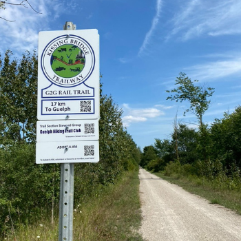 Goderich to Guelph Rail Trail rejuvenated with help from Laurier geography students